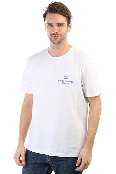 Футболка Element Mongo Optic White<br><br>Цвет: белый<br>Тип: Футболка<br>Возраст: Взрослый<br>Пол: Мужской
