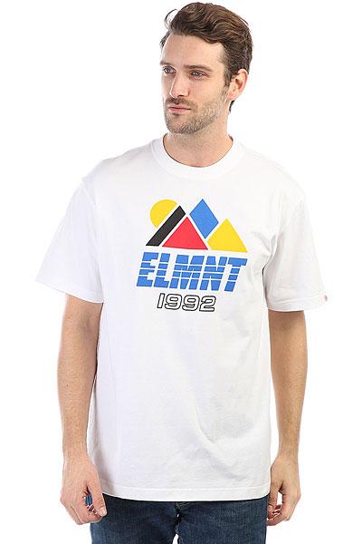 Футболка Element Angles Optic White<br><br>Цвет: белый<br>Тип: Футболка<br>Возраст: Взрослый<br>Пол: Мужской