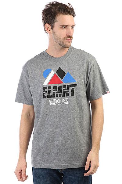 Футболка Element Angles Grey Heather element aubin grey heather