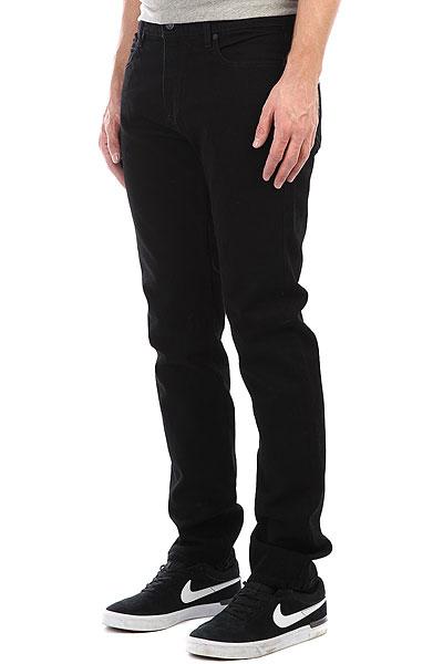 Джинсы прямые Element E03 Black Rinse джинсы прямые element continental haze wash