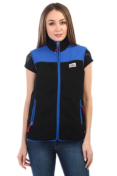 Жилетка женский Penfield Mattawa Fleece Vest Black<br><br>Цвет: синий,черный<br>Тип: Жилетка<br>Возраст: Взрослый<br>Пол: Женский