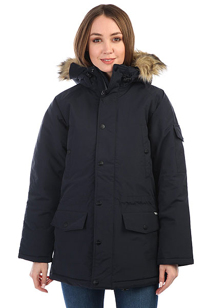 Куртка парка женский Carhartt WIP Anchorage Parka Dark Navy/Black scubapro anchorage trilaminate drysuit