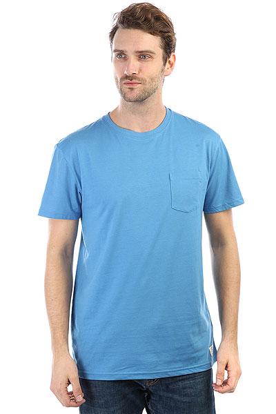 Футболка DC Basic Pocket 2 Campunula<br><br>Цвет: голубой<br>Тип: Футболка<br>Возраст: Взрослый<br>Пол: Мужской