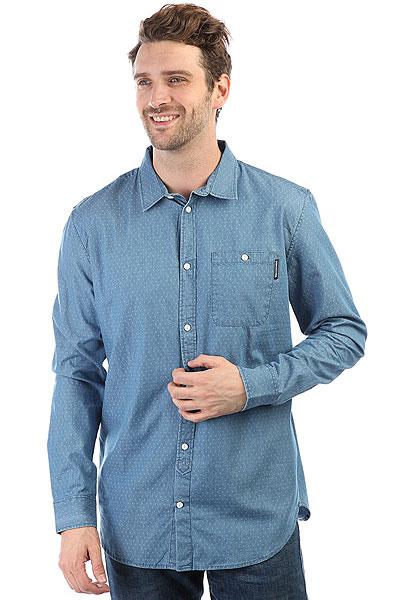 Рубашка DC Swalendalen 2 Light Blue dc shoes футболка dc wanderer blue iris