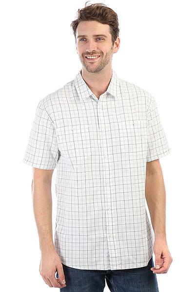 Рубашка в клетку Quiksilver Wakeplaid2 Snow White Wake Plai рубашка в клетку quiksilver motherflyfla black