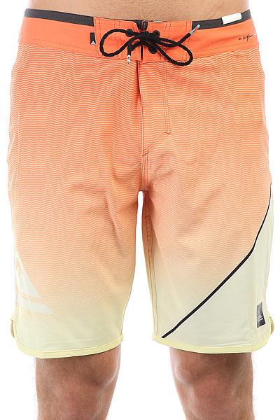 Шорты пляжные Quiksilver Highnewwave20 Cadmium<br><br>Цвет: оранжевый<br>Тип: Шорты пляжные<br>Возраст: Взрослый<br>Пол: Мужской