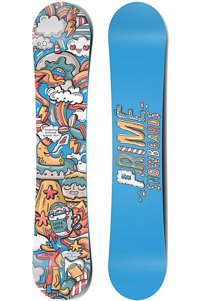 Сноуборд детский PRIME Snowboards Fun 100 BlueСноуборд для самых маленьких сноубордистов! Скорее отправляйтесь на приключения вместе с новым другом!Технические характеристики: Облегченный деревянный сердечник.Скользяк Extruded 4400.Форма Twin-Tip.Стекловолокно Triax.Боковины ABS.Закладные 16 шт.Верхний слой с защитой от ультрафиолета.<br><br>Цвет: мультиколор,синий<br>Тип: Сноуборд<br>Возраст: Детский