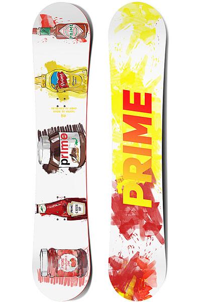 Сноуборд PRIME Snowboards Jam 150 Yellow