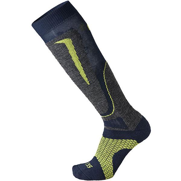 Носки высокие Mico Basic Ski Sock In Wool Blue ski go мазь держания ski go lf
