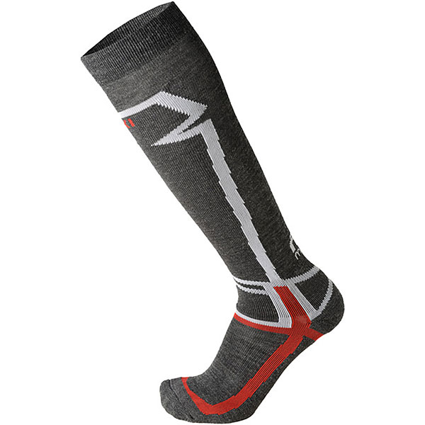 Носки высокие Mico Basic Ski Sock In Wool Antracite носки высокие mico official ski socks white grey