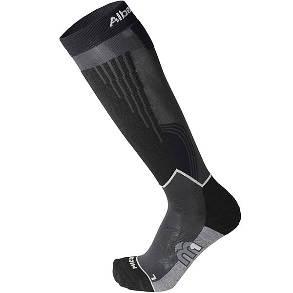 Носки высокие Mico Race Ski Socks By Alberto Tomba Antracite лыжи цикл ski race 130cm 1017155