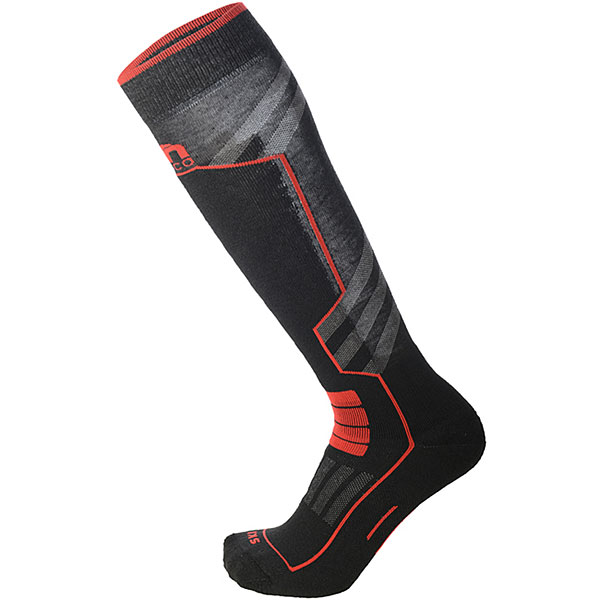 Носки высокие Mico Ski Performance Sock In Polypropylene Rosso носки высокие mico official ski socks white grey