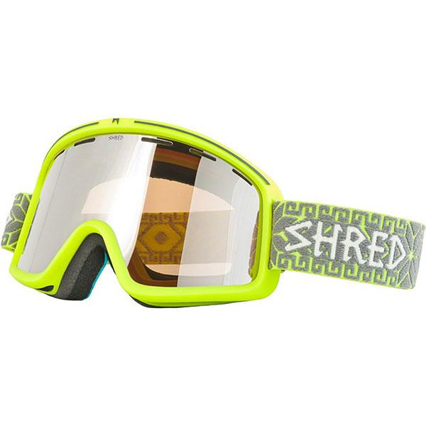 Маска для сноуборда Shred Monocle Norfolk YellowSHRED MONOCLE—cамая популярная маска в коллекции — по соотношению стиля, функциональности, цены и качества. Классическая форма с плоской линзой и ультра широким обзором. Имеет довольно узнаваемый дизайн в новом оригинальном решении: очень широкое поле видимости, отличная посадка на лице, новые технологии. Плоская преформированная отличноподчеркивает дизайн и дает отличную передачу контраста и четкости.Характеристики:Патентованная система NODISTORTION выравнивает давление между линзами и предотвращает искривление линз на высоте.Технология NoClog: периферическая вентиляция маски обработана гидрофобным составом, не дающим тающему снегу и воде закупорить вентиляционные отверстия 100% эффективное противодействие запотеванию. Обработка линз изнутри гидрофобным составом AntiFog. Двойной поликарбонатный преформированный линзовый блок. 100% защита от ультрафиолета. Очень широкое поле видения. Система замены линз NOBS. Мягкий 3х слойный уплотнитель. Силиконовая полоса на лямке для крепления на шлем. Совместима со шлемами различной конструкции. Подходит для широкого и среднего размера лица.<br><br>Цвет: желтый<br>Тип: Маска для сноуборда<br>Возраст: Взрослый<br>Пол: Мужской