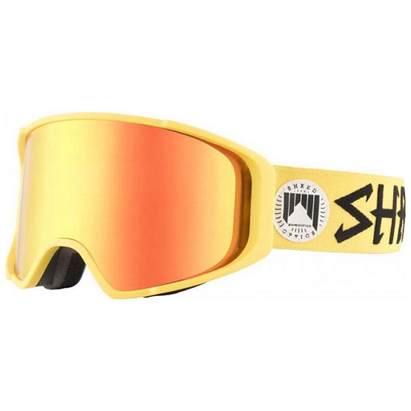 Маска для сноуборда Shred Simplify Jaune + Доп Линза Yellow кресло офисное tetchair twister кож зам черный бежевый 36 6 36 34