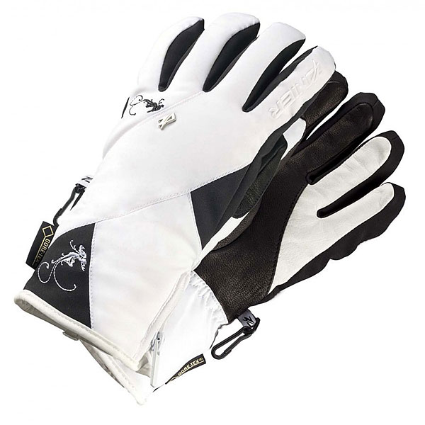 Перчатки сноубордические женские Zanier Aurach.gtx 10weiss<br><br>Цвет: белый,черный<br>Тип: Перчатки сноубордические<br>Возраст: Взрослый<br>Пол: Женский