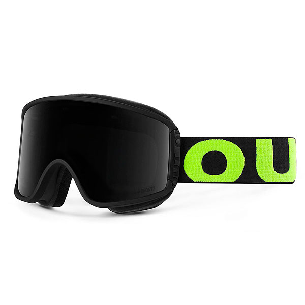Маска для сноуборда OUT OF Shift + Доп Линза Black/Green(smoke) маска для сноуборда dragon mdx nerve green ionized clear aft