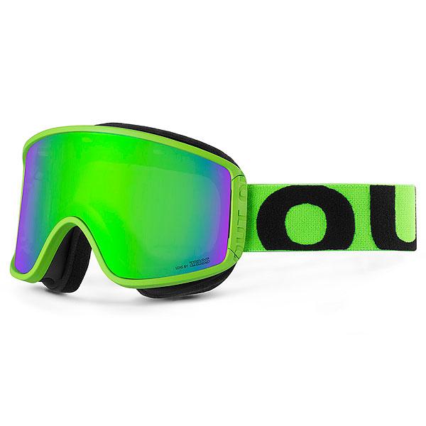 Маска для сноуборда OUT OF Shift + Доп Линза Fluo Green(green Mci) маска для сноуборда dragon mdx nerve green ionized clear aft