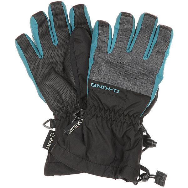 Перчатки детские Dakine Avenger Glove Carbon<br><br>Цвет: серый,голубой<br>Тип: Перчатки<br>Возраст: Детский