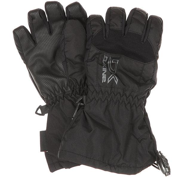 Перчатки детские Dakine Scout Black<br><br>Цвет: черный<br>Тип: Перчатки<br>Возраст: Детский