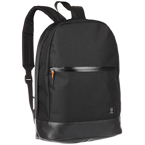 Рюкзак Extra B-303/2 BlackУдобный и практичный рюкзак на каждый день.Технические характеристики: Одно основное отделение.Внешний карман на молнии.Мягкие плечевые ремни с регулировкой.<br><br>Цвет: черный<br>Тип: Рюкзак<br>Возраст: Взрослый