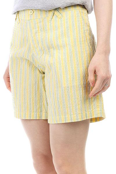 Шорты классические женские Flicka Furry Phreak Yellow Lines