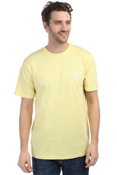 Футболка DC Stage Box Lemon Meringue<br><br>Цвет: желтый<br>Тип: Футболка<br>Возраст: Взрослый<br>Пол: Мужской