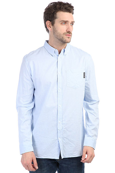 Рубашка DC Classic Oxford Light Blue рубашка insight no fool bleach blue classic