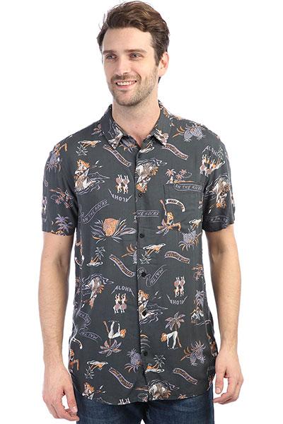 Рубашка Quiksilver Alohastripclub Tarmac Aloha Trip Cl толстовка quiksilver fleece tarmac