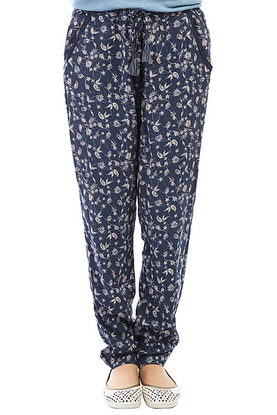 Штаны спортивные женские Roxy Bimini Printed Dress Blues<br><br>Цвет: мультиколор<br>Тип: Штаны спортивные<br>Возраст: Взрослый<br>Пол: Женский