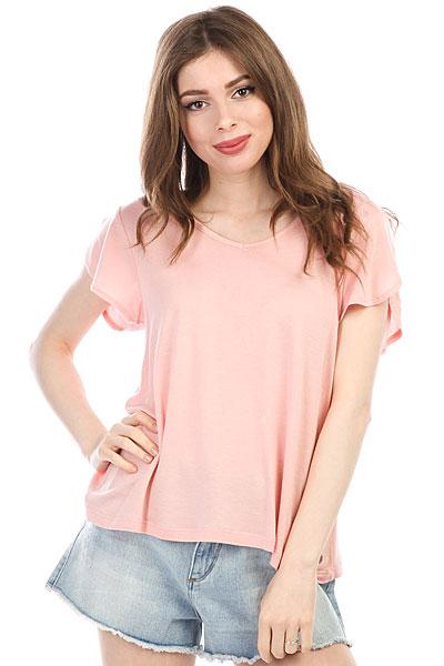 Блузка женская Roxy Allaboutsun Rose Tan<br><br>Цвет: розовый<br>Тип: Блузка<br>Возраст: Взрослый<br>Пол: Женский