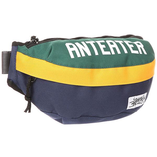 Сумка поясная Anteater Minibag Green/Blue/Yellow