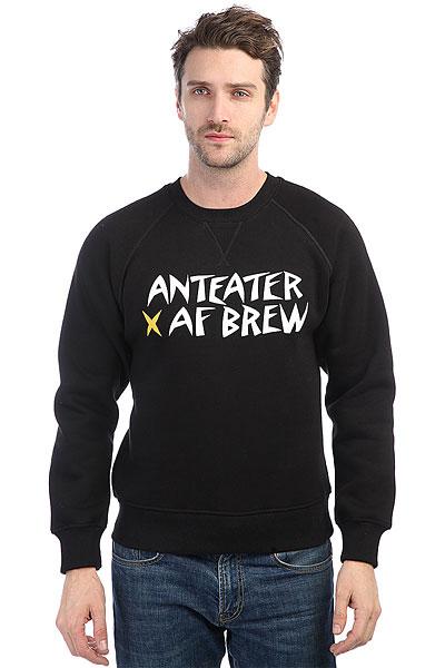 Толстовка свитшот Anteater Crewneck Brew<br><br>Цвет: черный<br>Тип: Толстовка свитшот<br>Возраст: Взрослый<br>Пол: Мужской