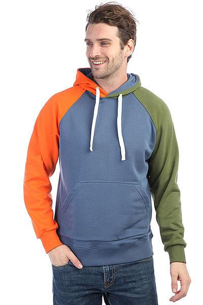 Толстовка классическая Anteater Hoodie Indigo<br><br>Цвет: зеленый,оранжевый,синий<br>Тип: Толстовка классическая<br>Возраст: Взрослый<br>Пол: Мужской