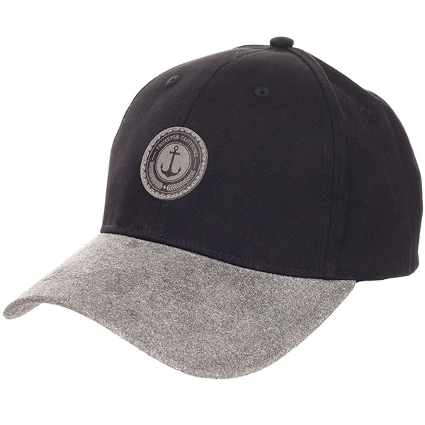 Бейсболка классическая TrueSpin Truespin Anker Black/Grey