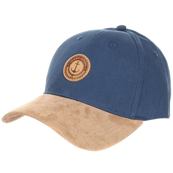 Бейсболка классическая TrueSpin Anker Blue/Beige<br><br>Цвет: синий,коричневый<br>Тип: Бейсболка классическая<br>Возраст: Взрослый