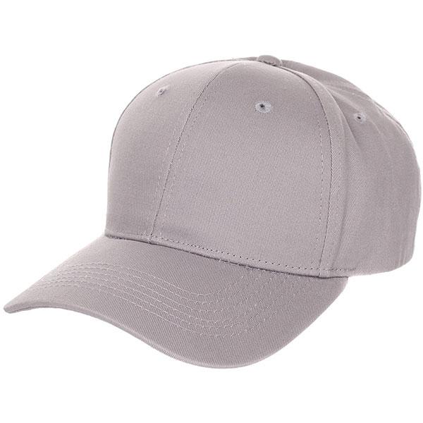 Бейсболка классическая TrueSpin Blank Round Visor Cap Dark Grey