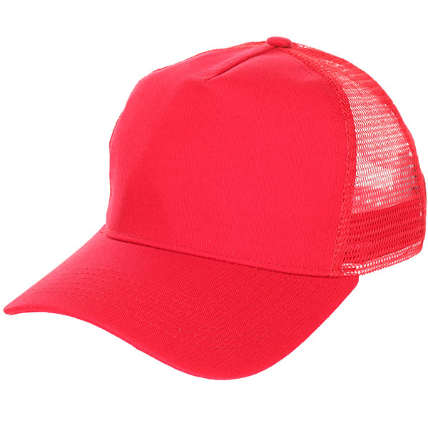 Бейсболка классическая TrueSpin Blank Round Visor Trucker Red<br><br>Цвет: красный<br>Тип: Бейсболка классическая<br>Возраст: Взрослый
