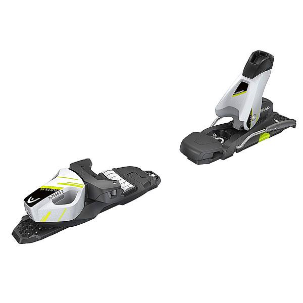 Крепления для лыж Head Slr 7.5 Ac Brake 78 [h] White/Black/Flash Yellow<br><br>Цвет: черный<br>Тип: Крепления для лыж<br>Возраст: Взрослый<br>Пол: Мужской