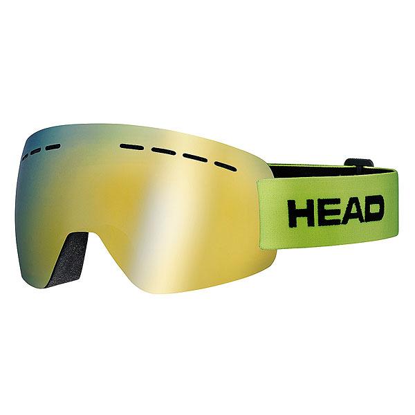 Маска для сноуборда Head Solar LimeСупер легкая маска сделанная по абсолютно безрамной технологии Real NO Frame.Технические характеристики: Прессованный преформованный поликарбонатный двойной линзовый блок.Линза 3 категории, светопропускаемость 13%.Зеркальная поверхность линзы Flash Mirror.Внутренняя поверхность обработана слоем предотвращающим запотевание.Защита UV 400.Тройной слой уплотнителя.Повышенное поле обзора.Супер малый вес - 66 грамм.Регулируемый ремешок.<br><br>Цвет: желтый<br>Тип: Маска для сноуборда<br>Возраст: Взрослый<br>Пол: Мужской