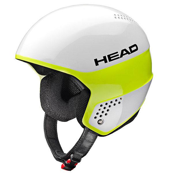 Шлем для сноуборда Head Stivot White/LimeТехнологичный спортивный шлем с жесткими ушами для тренировок и соревнований. Шлем не только отлично сидит, обеспечивает наилучшую защиту, но и очень мало весит.Технические характеристики: Шлем выполнен по технологии Hardshell с усилением слоями 100% карбона - легкий и супер прочный материал.Пена двойной плотности Dual Density.Крепление для маски.Вентиляция Thermal.Анатомичная подкладка из микрофлиса с вентиляцией.Совместим со слаломной защитой STIVOT RACING CHINGUARD.Сертификат CE EN 1077:2007 Class B.<br><br>Цвет: белый<br>Тип: Шлем для сноуборда<br>Возраст: Взрослый<br>Пол: Мужской