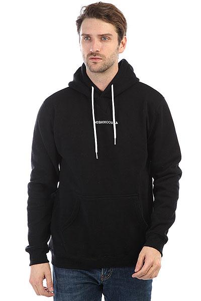 Толстовка кенгуру DC Craigburn Black<br><br>Цвет: черный<br>Тип: Толстовка кенгуру<br>Возраст: Взрослый<br>Пол: Мужской
