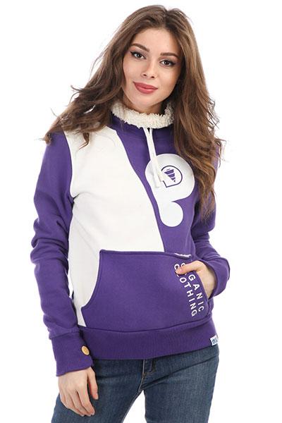 где купить Толстовка кенгуру женская Picture Organic Sweat Neptune Purple по лучшей цене
