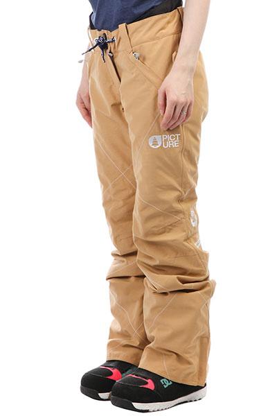 Штаны сноубордические женские Picture Organic Cooler Coffe брюки сноубордические цена 1500