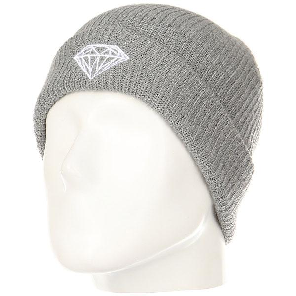 Шапка Diamond Brilliant Fold Beanie Charcoal люстра на штанге preciosa brilliant 45 0524 006 07 00 07 01