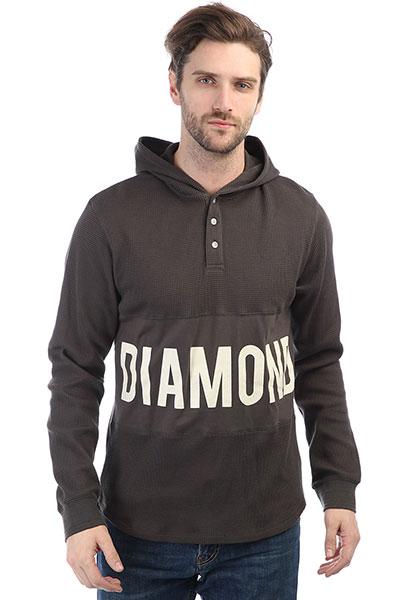 Толстовка классическая Diamond Winston Hooded Thermal Brown<br><br>Цвет: серый<br>Тип: Толстовка классическая<br>Возраст: Взрослый<br>Пол: Мужской