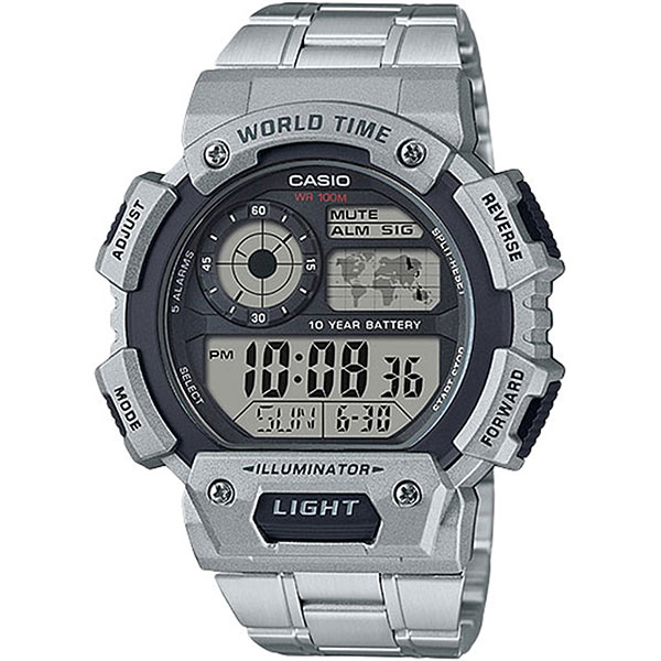 Электронные часы Casio Collection ae-1400whd-1a часы casio collection ae 1000wd 1a grey