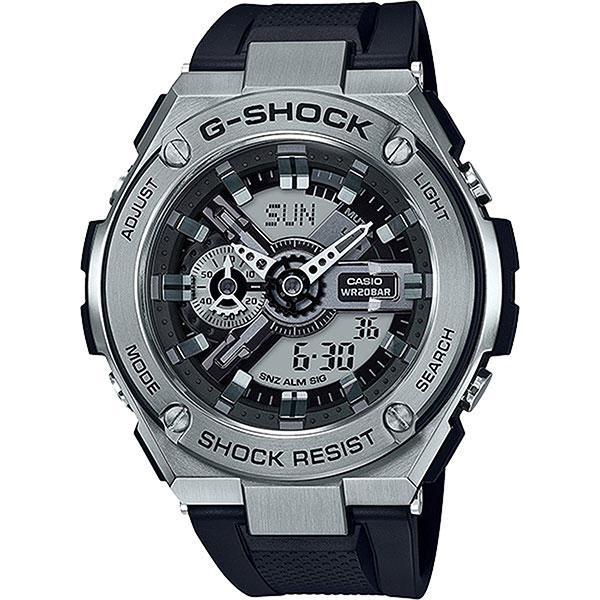 Электронные часы Casio G-shock gst-410-1a часы kenneth cole kenneth cole ke008dmwtw72