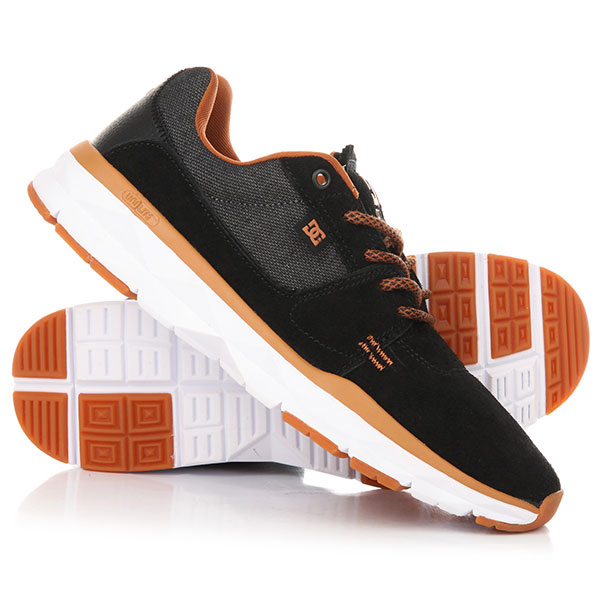 Кроссовки DC Player Se Black/Camel dc shoes кеды dc council se navy camel 8