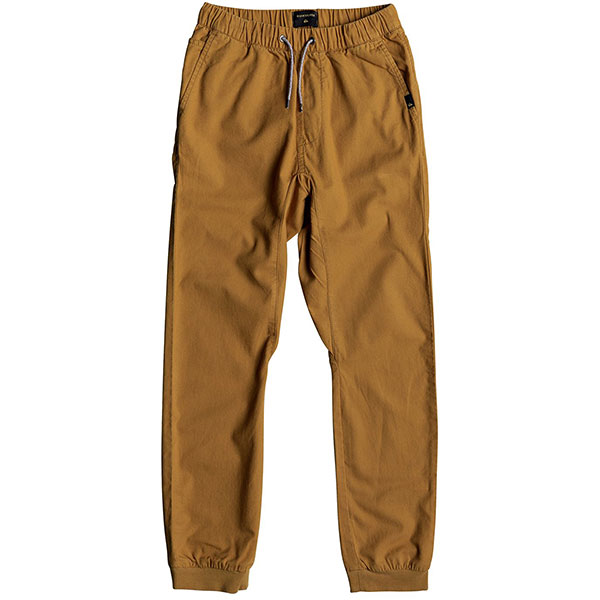 Штаны прямые Quiksilver Wapu Pant Cathay Spice<br><br>Цвет: коричневый<br>Тип: Штаны прямые<br>Возраст: Детский