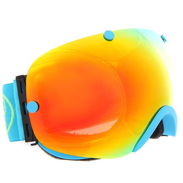 Маска для сноуборда Vizzo Spherix Red Mirror/Blue<br><br>Цвет: голубой<br>Тип: Маска для сноуборда<br>Возраст: Взрослый<br>Пол: Мужской